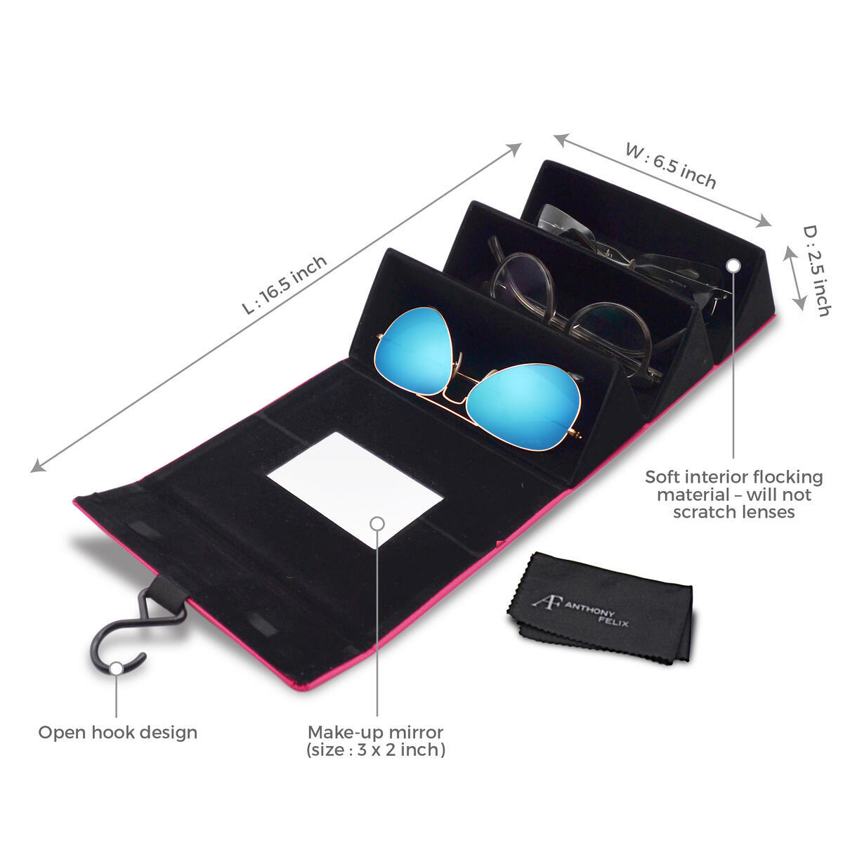 Sunglasses Travel Case - All Color Variations