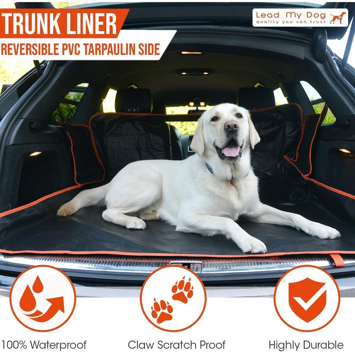 Dog Car Seat Cover / Pet Seat Cover for Cars, SUVs, Station Wagons