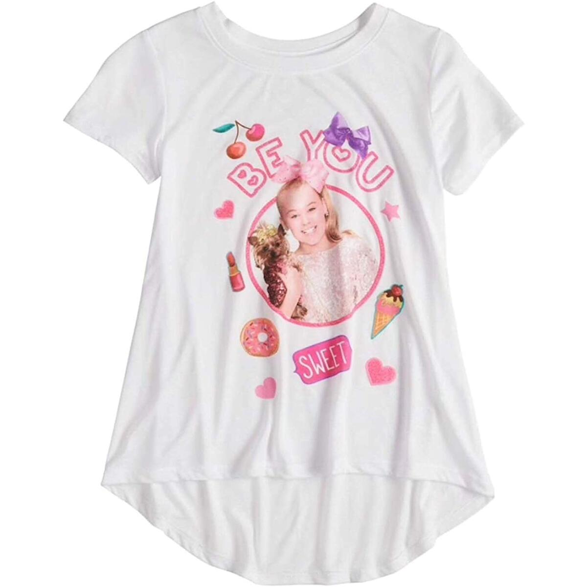 Nickelodeon Girls' JoJo Siwa Short Sleeve T-Shirt