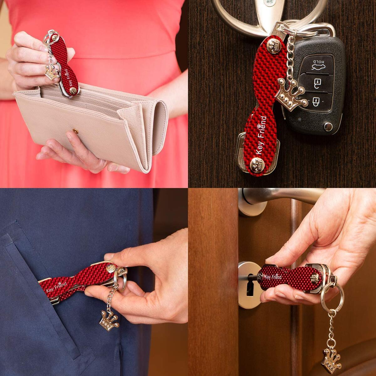 KeyFriend Smart Key Organizer for Women