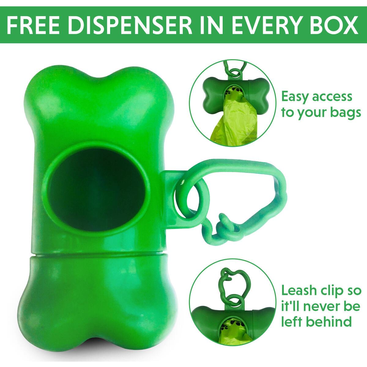 woofprize dog poop bag with dispenser and toy set