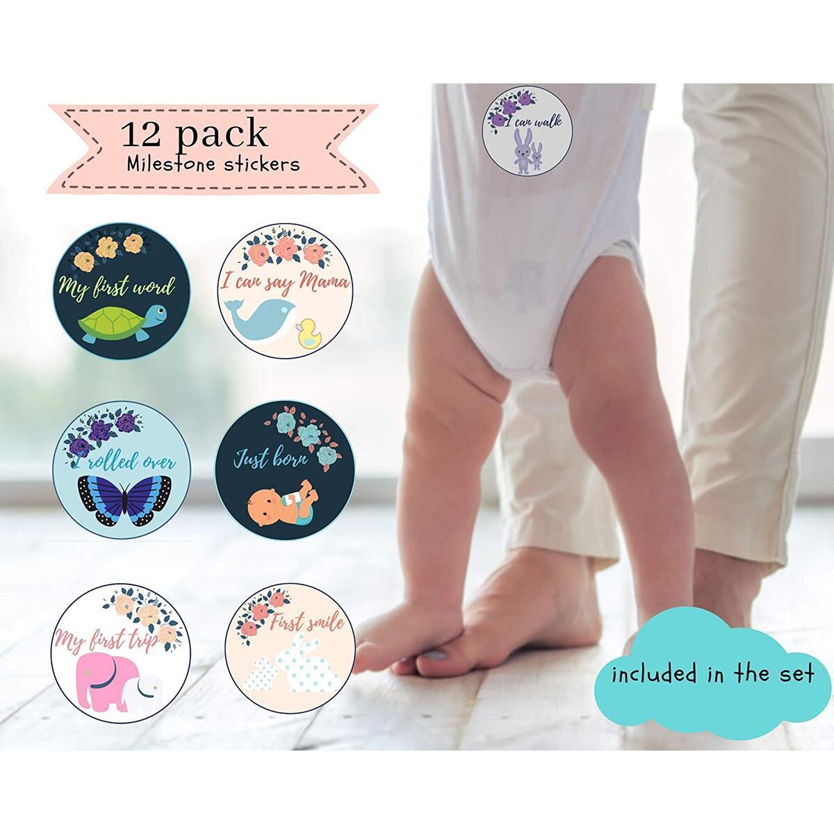 Ayala classic Baby Milestone Blanket
