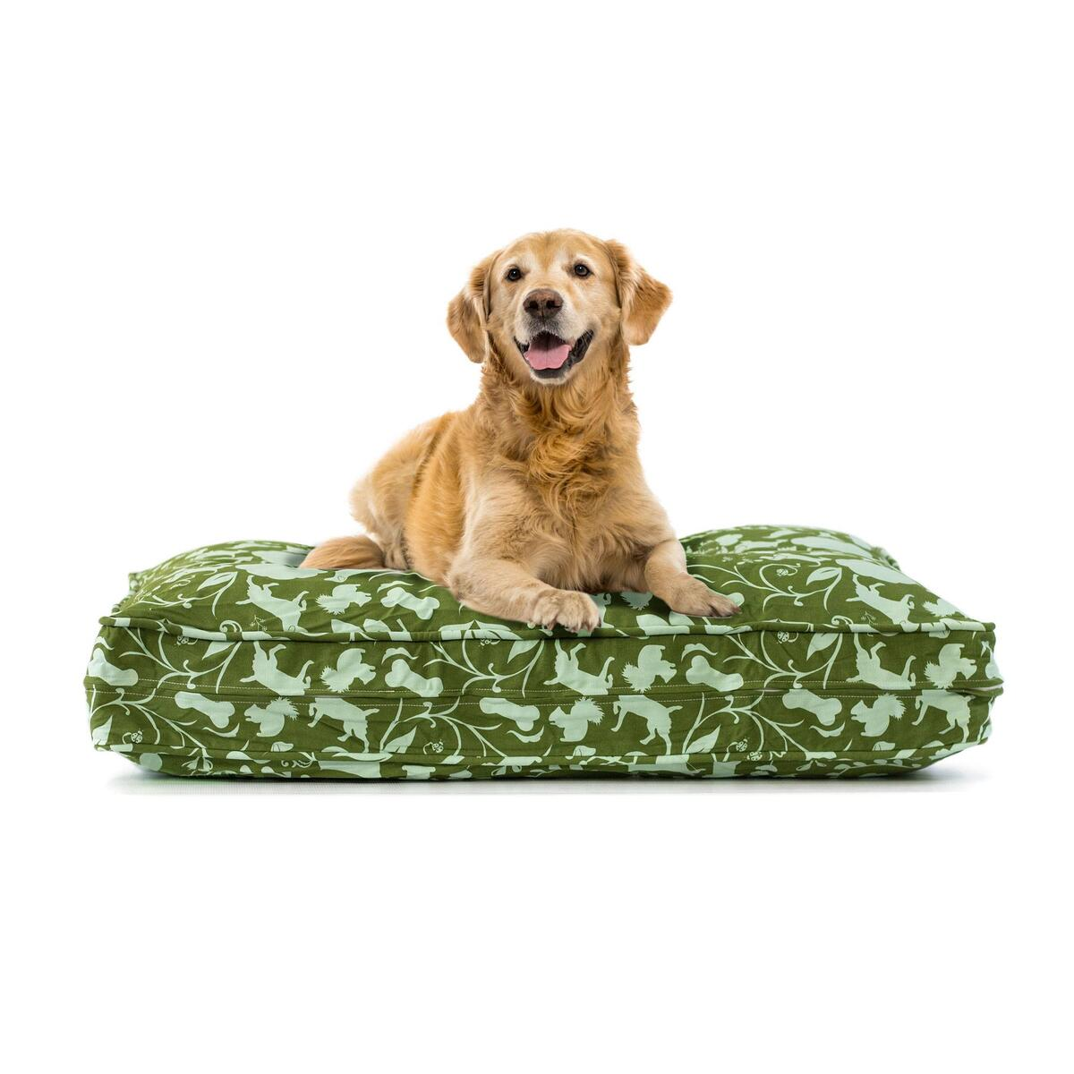 Deluxe Cluster Fiber Filling Pet Beds Small Dog Days Color Only