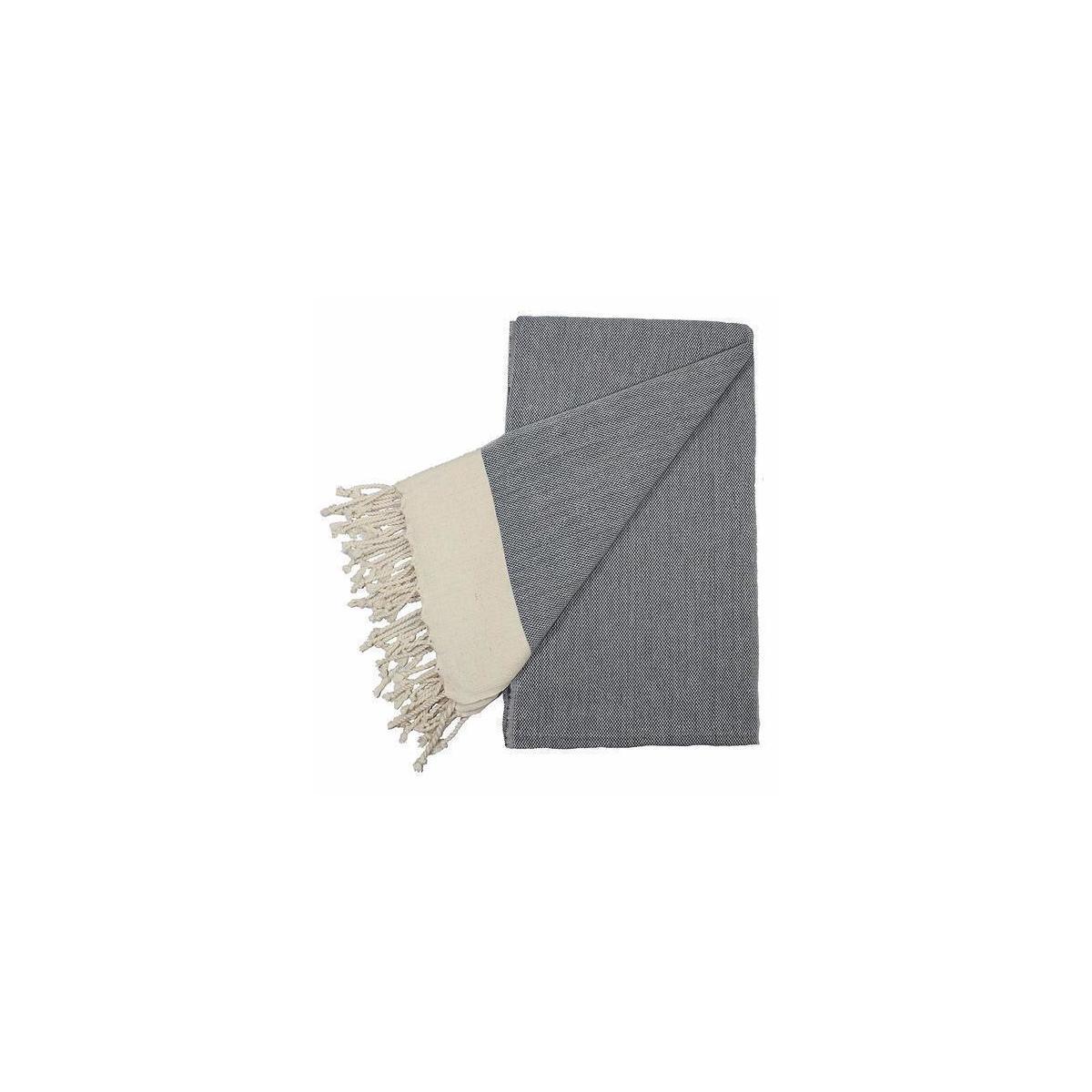 Remizone Peshtemal Towel, Premium 100% Cotton,Turkish Beach Towel, Handloom Bath Towel (Navy Blue)