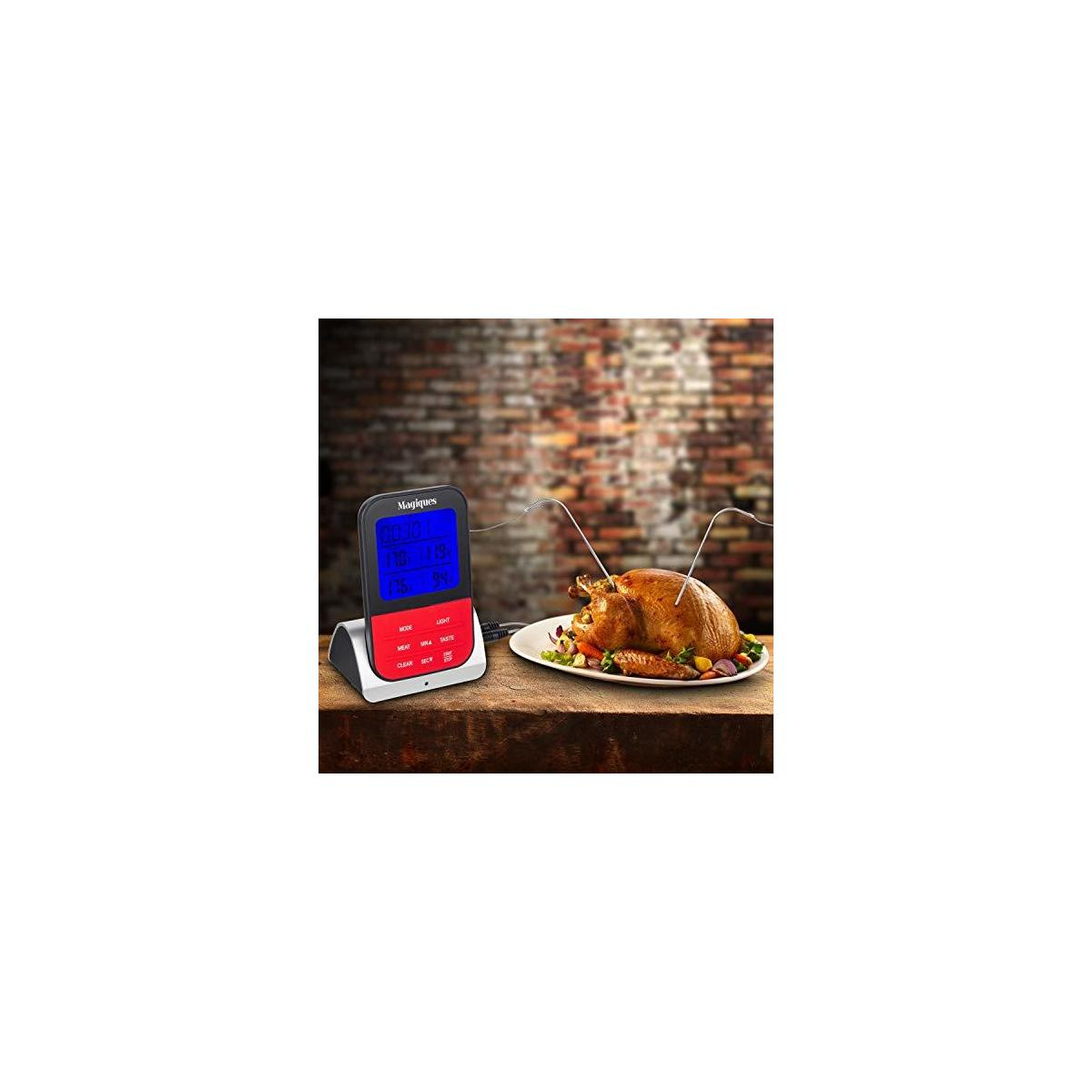 Wireless Meat Thermometer for grilling/smoking