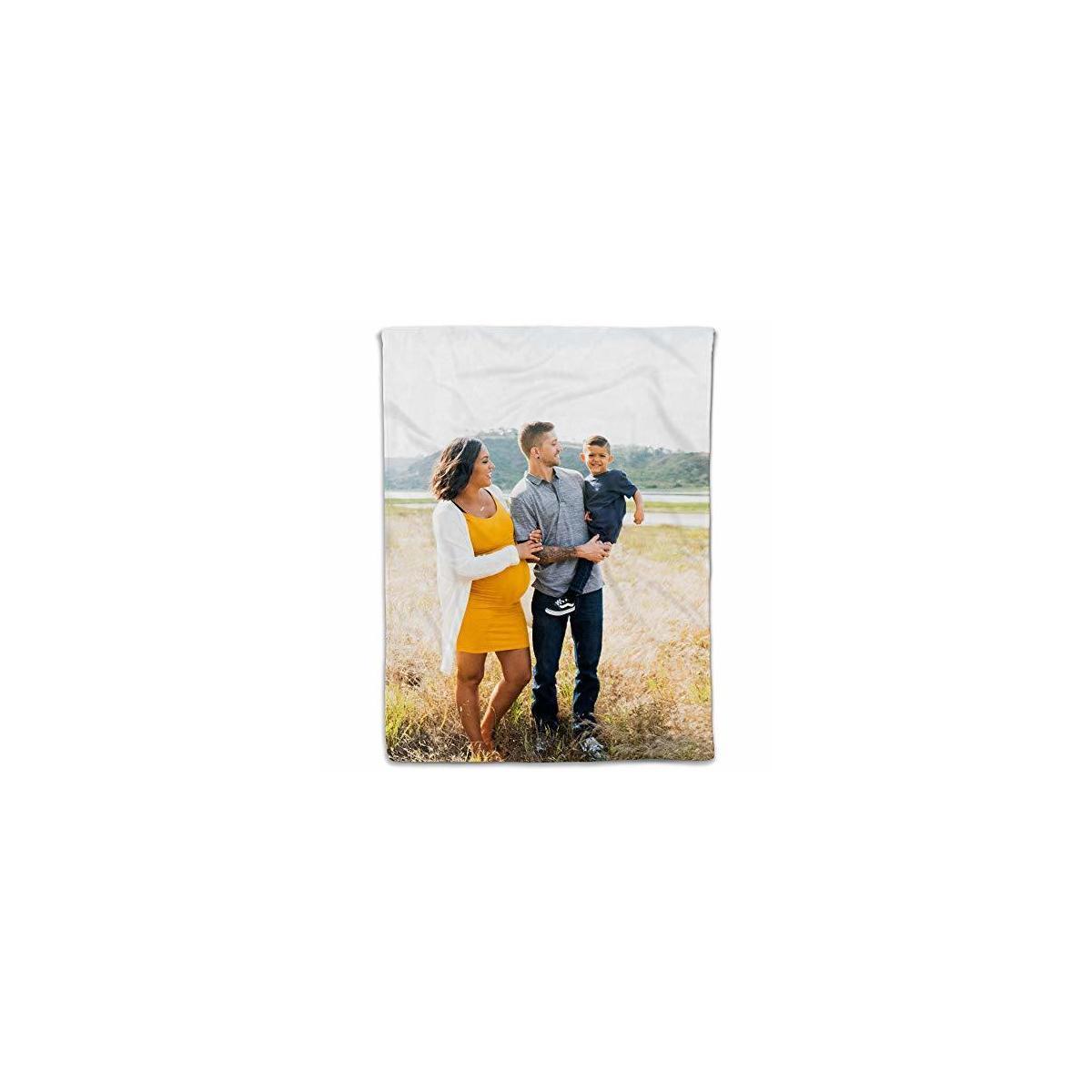 Custom Blanket Upload Photo Blanket Size Small 30