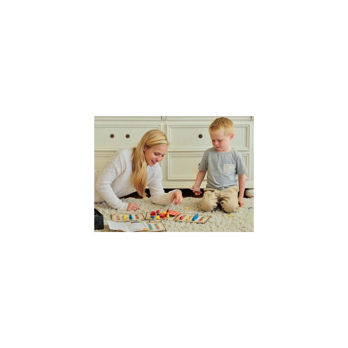 Inspiration Play Rail Wreck Kids Train-Themed Board Game (Ages 4 up)