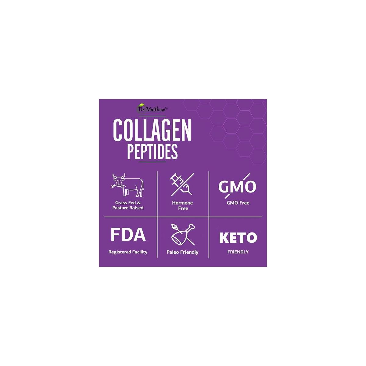 Best Collagen Powder for Women & Men. Collagen peptides Protein Powder. Pure Keto Hydrolyzed Collagen Supplements for Hair Growth, Skin, Nails, Joints & Weight Loss. Grass Fed, Unflavored. Type 1 & 3