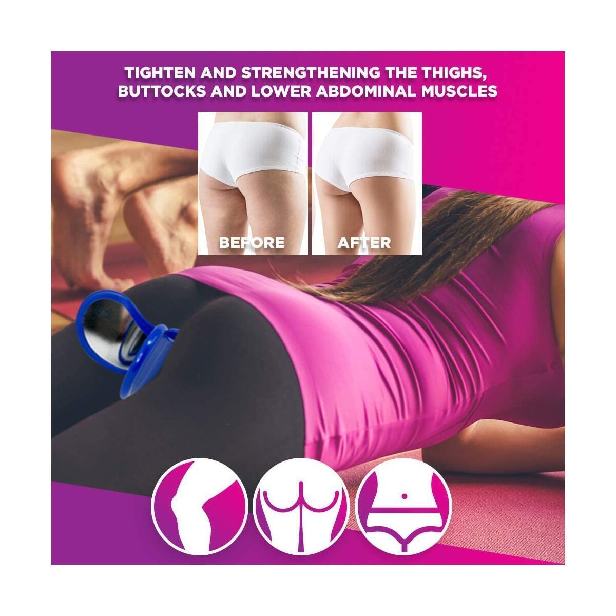 Hip Trainer - Butt Workout Equipment For Women - Pelvic Floor Muscle And Inner Thigh Exerciser - Glute Trainer - Booty Trainer - Glute Workout Equipment - Workout Equipment For Women