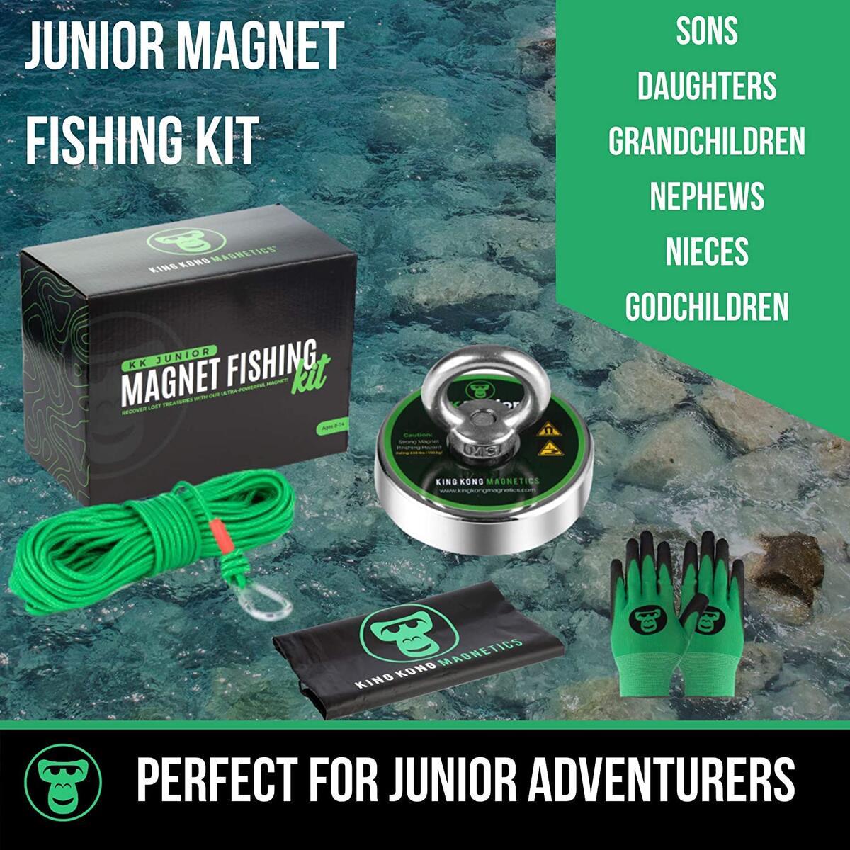 Junior Fishing Magnet Kit - Perfect Gift