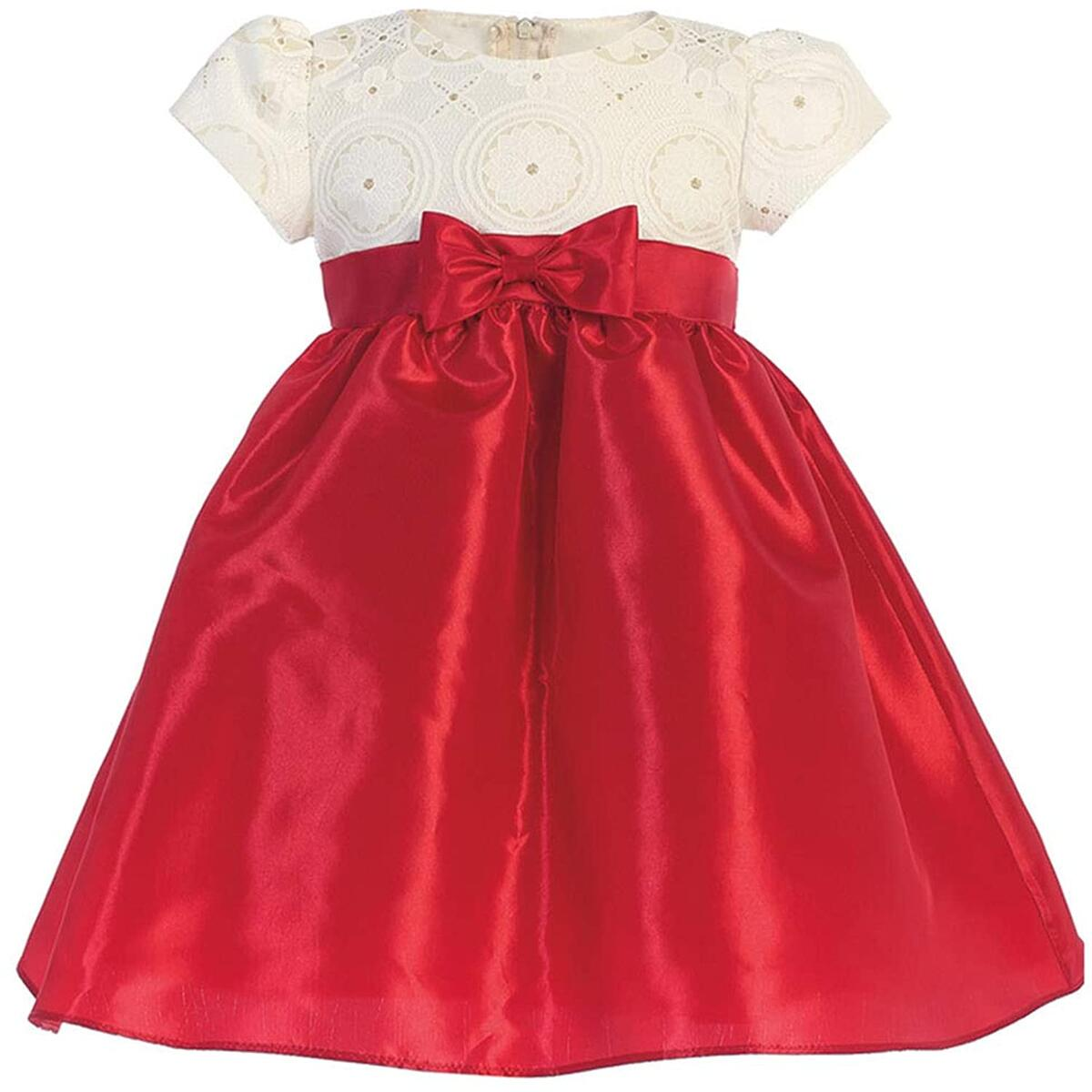Pink Princess Christmas Dresses for Girls - Baby Toddler Outfits - Made in USA