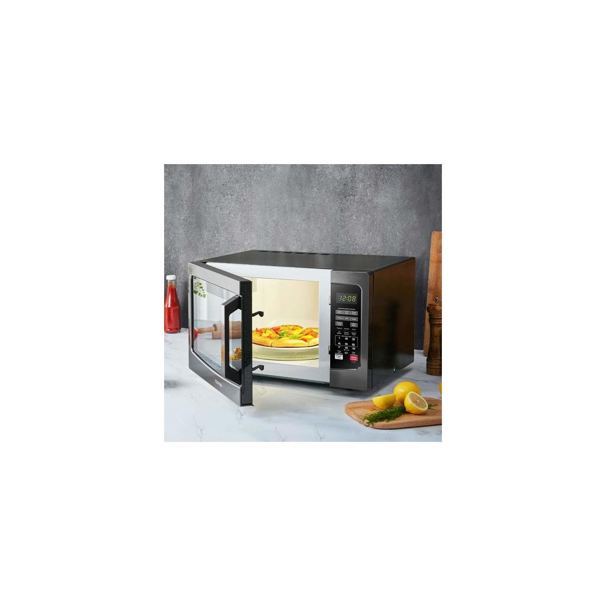 Toshiba Em131a5c Bs Microwave Oven With Smart Sensor Easy ...