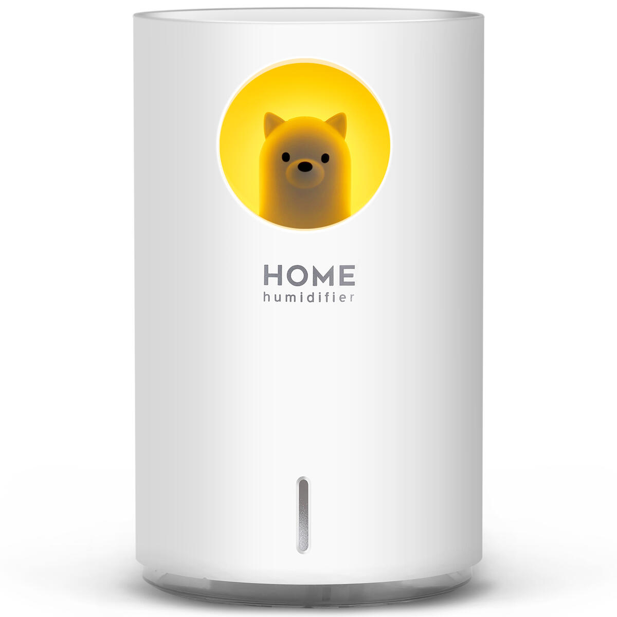 700mL Humidifiers for Bedroom Home Office,SIXKIWI Cute Bear Cool Mist Humidifier USB(102474)