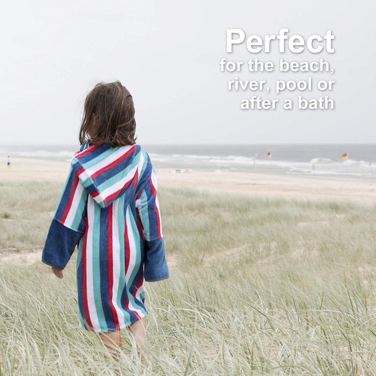 Huggy Adventure Hooded Beach Towel - 100% Cotton (4 Styles)