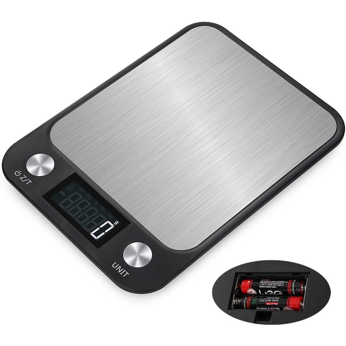 ONEKG Digital Food Kitchen Scale - Max 11lbs/5kg Precise Scale for Cooking and Baking