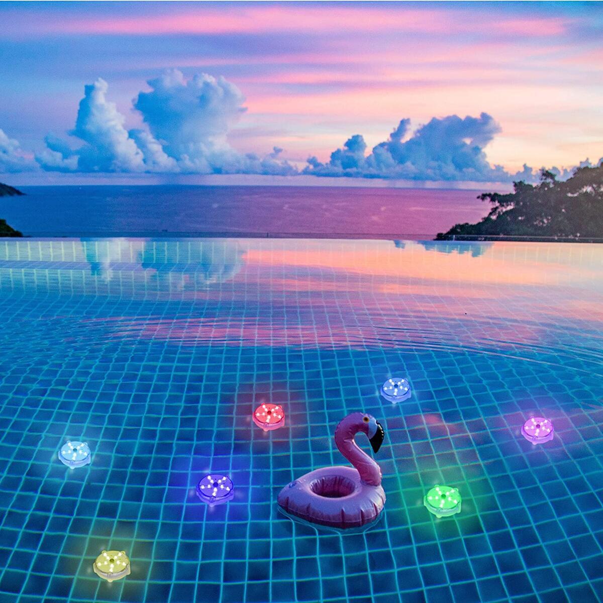 Starfish Floating Pool Lights - 1 Pk