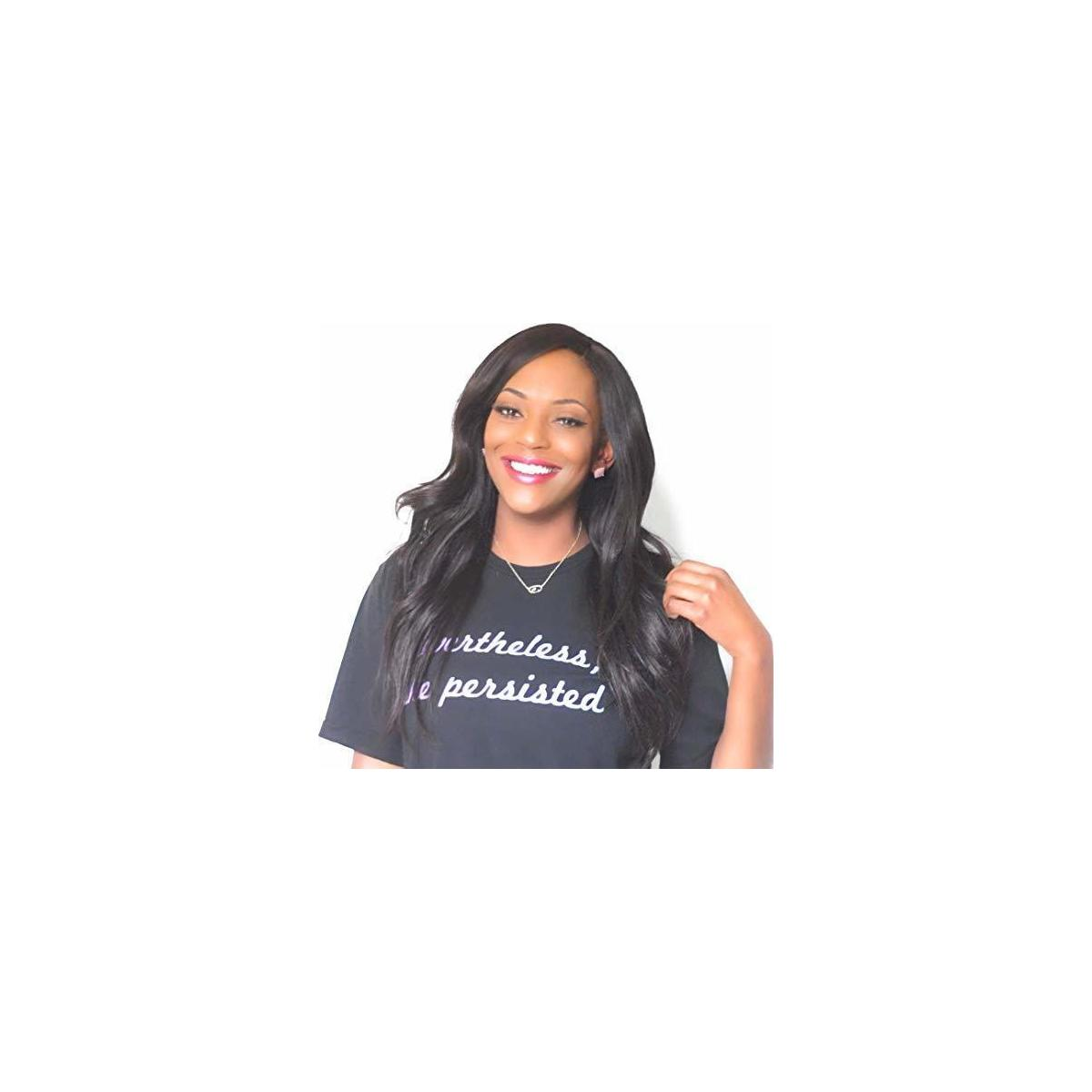 Nevertheless She Persisted Relaxed Fit Women's Shirt (Size S-XL)