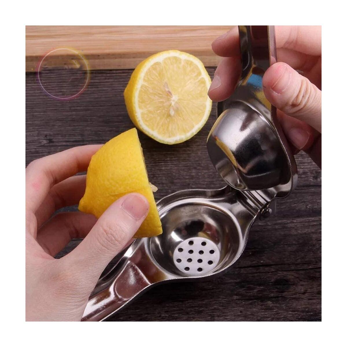 Stainless steel premium quality lemon squeezer manual fruit juicer hand press