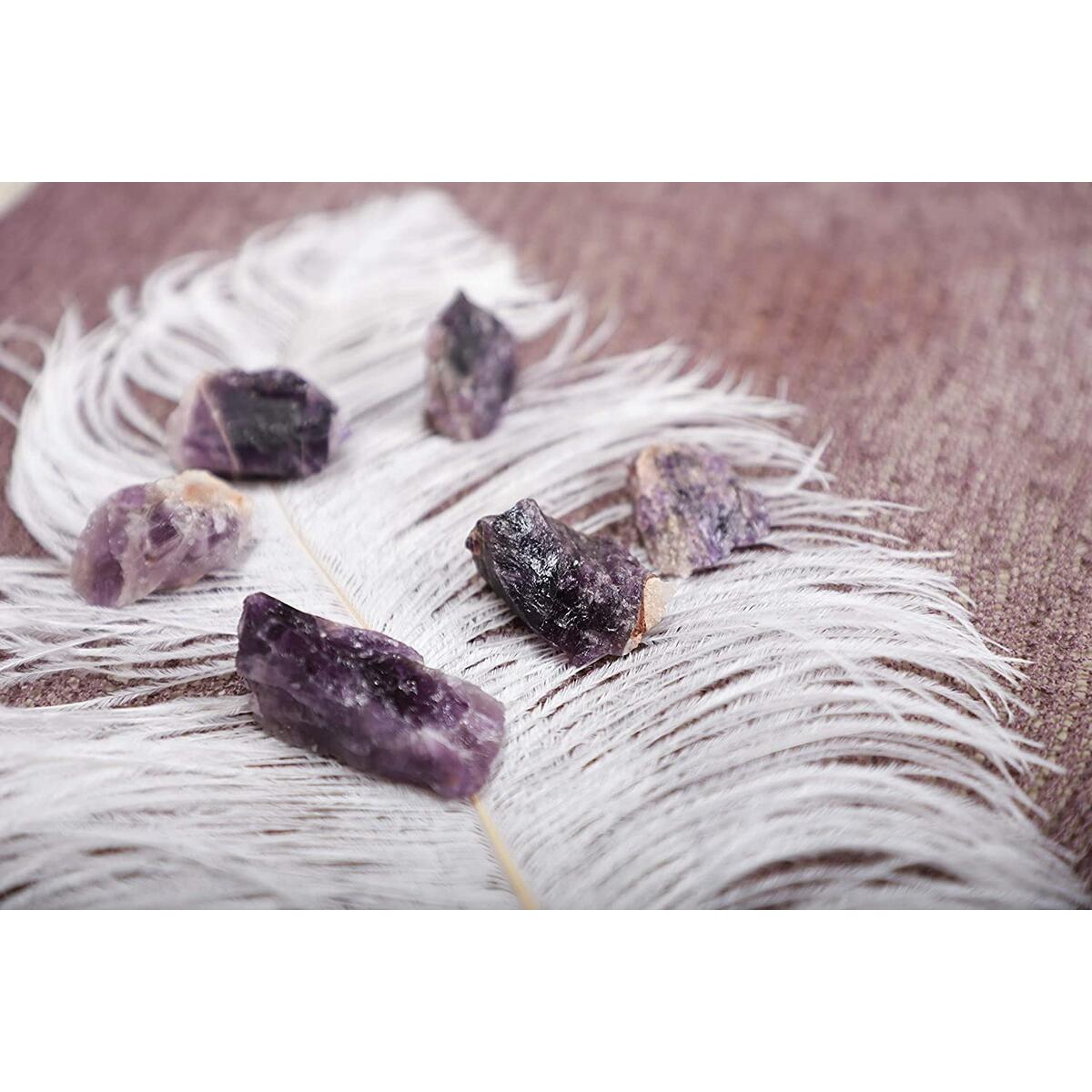 Chakra Aromatherapy Home Diffuser Crystals and Stones Kit (Amethyst)