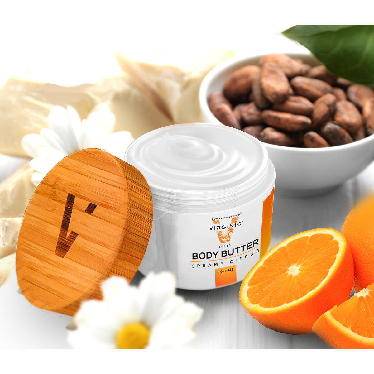 Body Butter | New Nano Science in Anti Aging | Nano Purity - The Most Biologically Pure Product on the Market | Nano Particles Work on Deepest Skin Layers | V Limited Edition